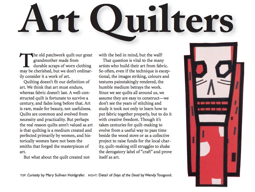 AlbertaViews - Art Quilters