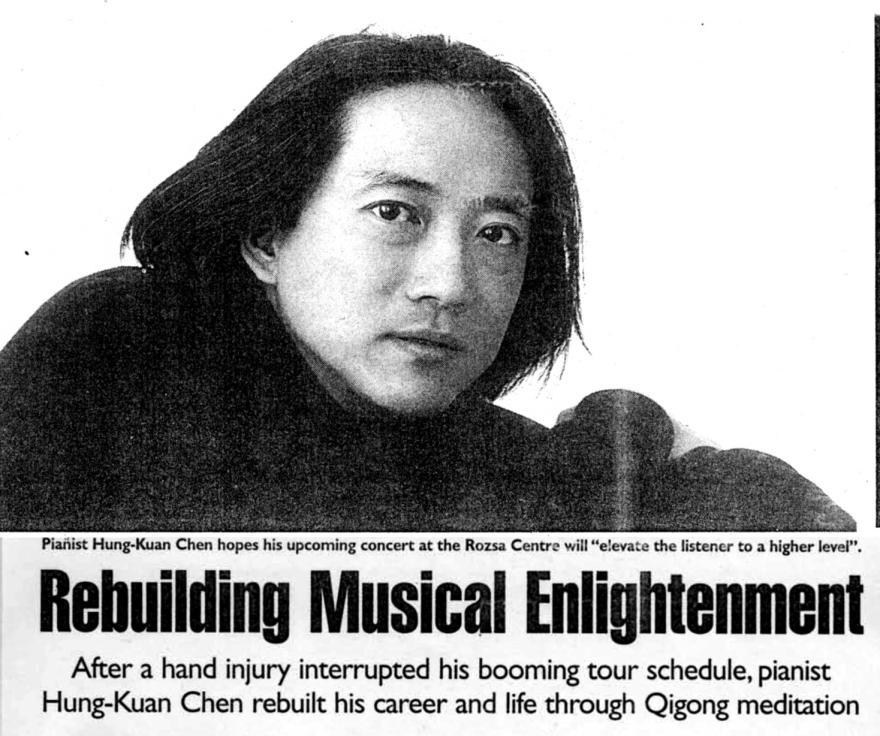 Pianist Hung-Kuan Chen