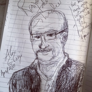 Alex Gibney doodle
